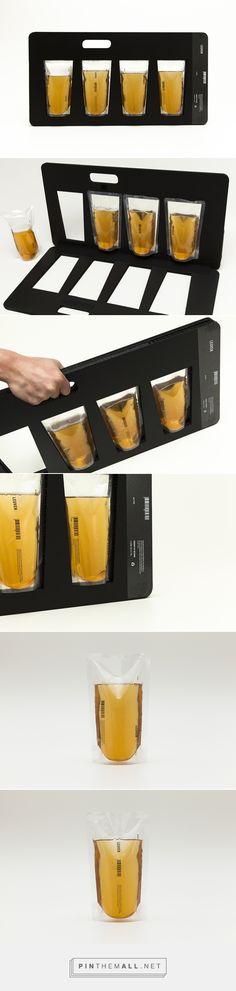 LEUVEN // Premium Beer Packaging // minimalist