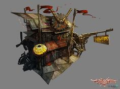 Environment Concepts   Guns of Icarus Online