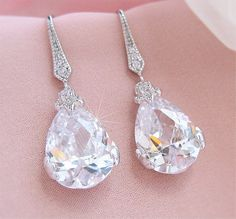 GORGEOUS bridal earrings!