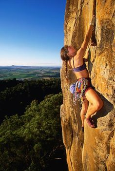 I want to learn to become a good rockclimber :)