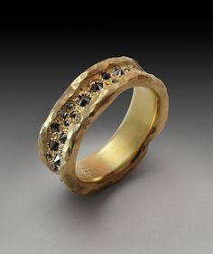 Concave band- 18k-black diamonds 2011.jpg