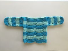 Baby sweaterorganic cottonbaby by TwoNeedlesOneMagic on Etsy