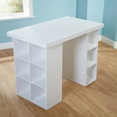 Simple Living White Counter Height Craft Table - Overstock™ Shopping - Great Deals on Simple Living Desks