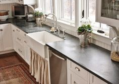 for the love of a house: Soapstone...