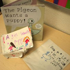 Mo Willems books are wonderful examples of using a strong voice in writing - children will love making their own Pigeon books! Assessment For Learning, Learning Goals, Learning To Write, Teaching Writing, In Writing, Reading Comprehension Strategies, Writing Strategies, 2nd Grade Ela, Grade 2