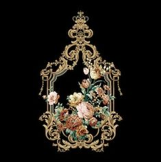 Clock Decor, Ornaments Design, Motif Design, Album Design, Rococo, Vintage Paper, Vintage Patterns, Diy Furniture, Decoupage