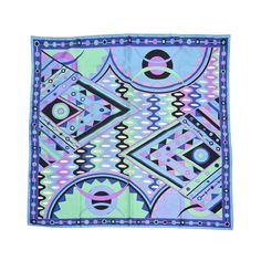 Beautiful Pucci Vintage Silk Scarf  1