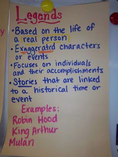 My Life as a Third Grade Teacher: Traditional Literature traditionally sucks… Fiction Anchor Chart, Genre Anchor Charts, Reading Anchor Charts, Reading Workshop, Reading Skills, Teaching Reading, Reading Genres, Writing Genres, Writing Strategies