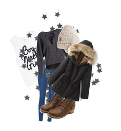 """""""Untitled #627"""" by elisabetta-negro ❤ liked on Polyvore featuring Glamorous, Vince and The North Face"""