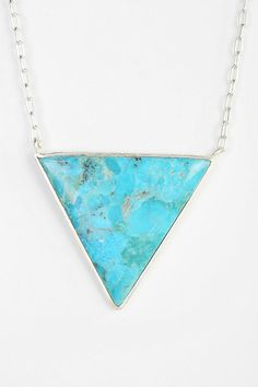 Adorn By Sarah Lewis Turquoise Trifecta Necklace #urbanoutfitters