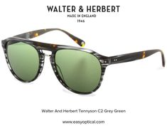 Walter and Herbert Tennyson Sunglasses Oakley Sunglasses, Green And Grey, Style, Swag, Outfits