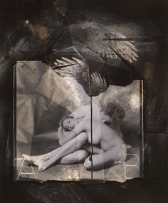 The Recollection of. . . the Rapture No. 12, negative collage