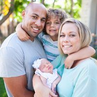 Kendra Wilkinson-Baskett Introduces Baby Girl Alijah Mary—Such a cute lil family!