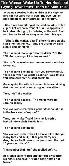 She Thought He Was Being Romantic. But Then He Said This.