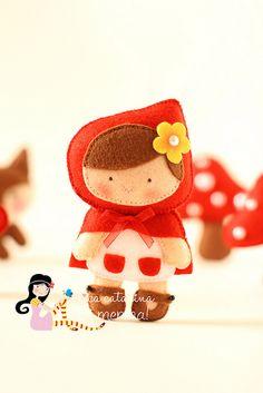 Chapeuzinho Vermelho Baby by Ei menina! - Érica Catarina, via Flickr