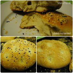 Barbari (perzský sezamový chlieb) - Recept Hamburger, Ale, Muffin, Bread, Breakfast, Indie, Food, Basket, Meal