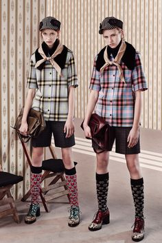 Miu Miu Pre-Fall 2015 Fashion Show