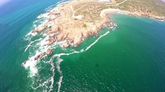 Fransmanshoek from the air. Western Cape. South Africa