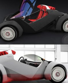 Strati, l'auto creata con una stampante 3D: scopriamo di più sul singolare veicolo, di produzione americana!  #Auto #tecnologia