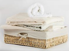 Easy-to-Make Laundry Basket Liners.