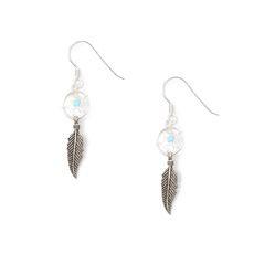 Sterling Silver Dream Catcher Drop Earrings