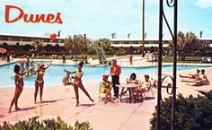 Dunes Hotel Pool Las Vegas, NV.