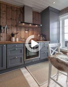 110 Awesome Kitchen Backsplash Remodel Ideas Kitchen backsplash designs are as v. Wood Kitchen Cabinets, Kitchen Flooring, Kitchen Backsplash, Diy Kitchen, Kitchen Interior, Kitchen Decor, Kitchen Furniture, Awesome Kitchen, Dark Cabinets