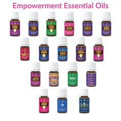 Empowerment Essential Oils by Young Living. Many people know Young Living has hundreds of products that support physical wellness and toxin free living. NOT everyone knows that we carry a long line of Essential Oil blends used for what I call empowerment. Oils that help you get through things that you may be dealing with, from fear, to clarity, to past issues to regaining your inspiration. Take a look at our blends (I call them empowerment oils) and see which can help you today.