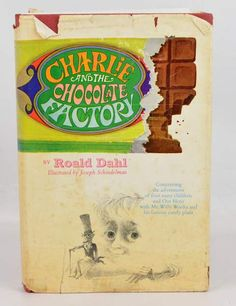 1964 3rd Printing, Charlie and the Chocolate Factory Book