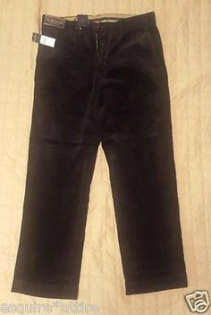 #POLO Ralph Lauren men size 33x30 corduroy pants black RalphLauren visit our ebay store at  http://stores.ebay.com/esquirestore