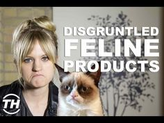Courtney Scharf Discusses Items That Tribute the Grumpy Cat Meme #memes #grumpycat