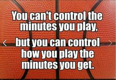 So true. Players start playing your best and using your head and let the coach decide. Stop complaining