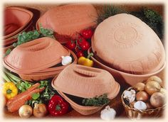 I have 3 Romertopfs - in different sizes!!! These clay bakers roast the best chickens & holiday turkeys (no basting required!!!)