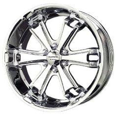 Liquid Metal Dyno Series Chrome Wheel (22x9.5 Liquid Metal, New Chrome, Chrome Wheels