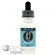 Unique, and deceptively complex, Jag, Fuzion Vapor's entry in the Rule 42 line, can be accurately described in two words.  Lemon Frosting.