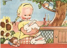 vintage Mabel Lucie Attwell book illustration