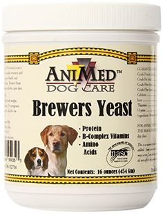 AniMed Pure Brewer's Yeast Powder for Dogs, 16-Ounce ** To view further for this item, visit the image link.