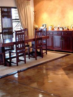 www.cemente.co.za - stained concrete floors over cuppachino Durban South Africa