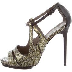 Pre-owned - Python sandals Balenciaga TIjXaHjF