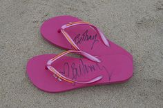 <3 Bethany Hamilton Pink MADiLs, orange bands, flower charm, heart charm www.mymadil.com