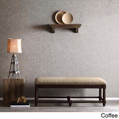 The Renate upholstered space is an elegant addition to any decor. Constructed of a wooden frame and upholstery in a grey finish, this piece offers a comfortable seating space.