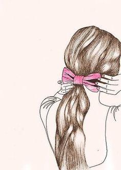 girl hair drawing tumblr - Google Search