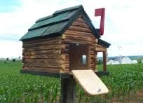Attrayant Log Cabin Mailboxes   Google Search