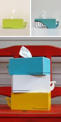 Inspi boîte à mouchoirs