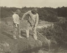 Peter Henry Emerson | Eel-Picking in Suffolk Waters