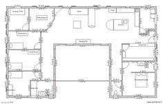 26 meilleures images du tableau Plan maison en 2014 | Plans de maison de rêve, Plans étage ...