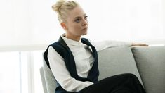 Anglea (Portia Doubleday) in season 2, episode five of Mr. Robot.