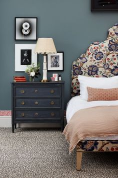 Adding pattern to the home can be a daunting task. Tiffany Duggan from Studio Duggan shares her tips to introduce pattern. Dream Bedroom, Home Bedroom, Bedroom Furniture, Home Furniture, Bedroom Decor, 1920s Bedroom, Master Bedroom, Bedroom Carpet, Furniture Online