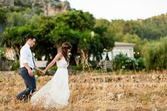 Mallorca Destination Wedding Photography - Kim and Greg's rustic and beautiful Finca Son Bosch wedding in the hills on the Spanish island of Majorca. © Babb Photo