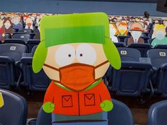 1,800 South Park Cut-Outs Spread Across Five Sections at Broncos Game During the COVID-19 Pandemic Denver Broncos Game, Go Broncos, South Park Characters, Fictional Characters, Champions Leauge, Kyle Broflovski, Cheer Me Up, Nfl News, Amor